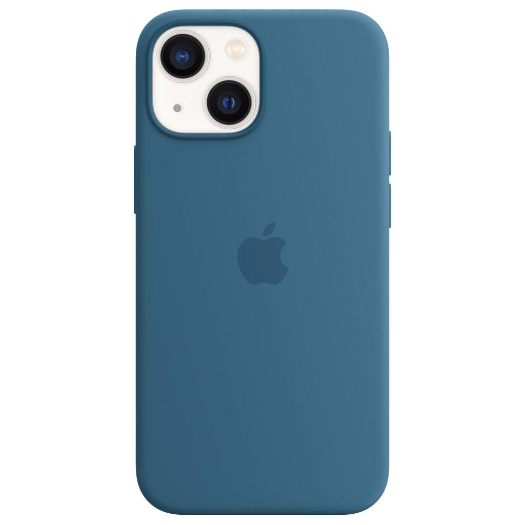 Apple iPhone 13 mini Back Cover met MagSafe Ijsblauw