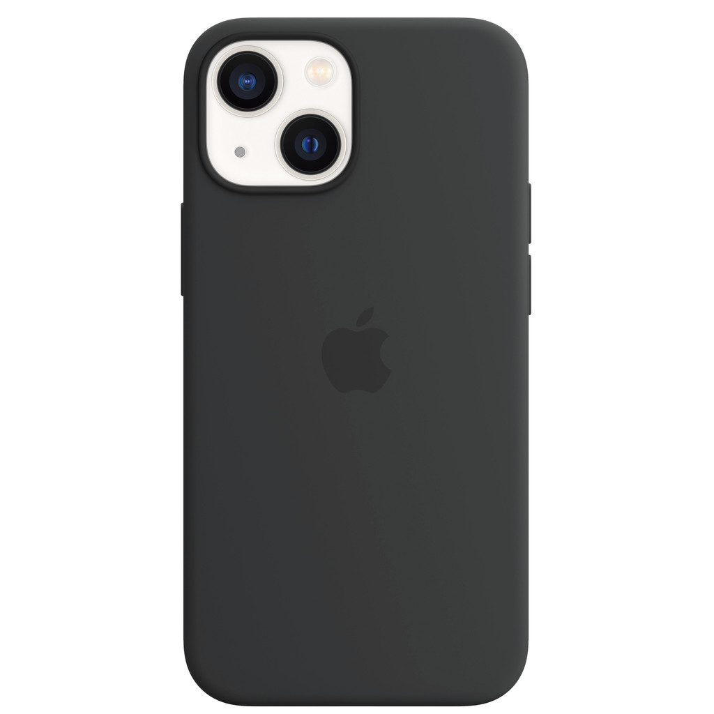 Apple iPhone 13 mini Back Cover met MagSafe Middernacht