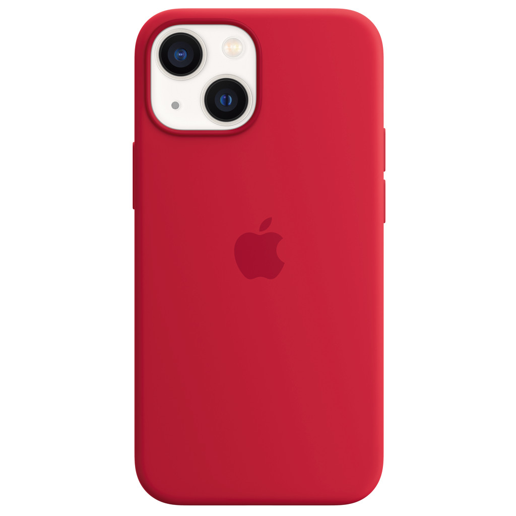 Apple iPhone 13 mini Back Cover met MagSafe RED