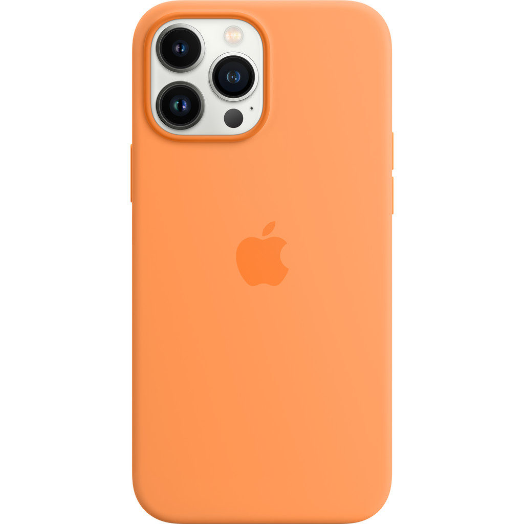 Apple iPhone 13 Pro Max Back Cover met MagSafe Okergeel