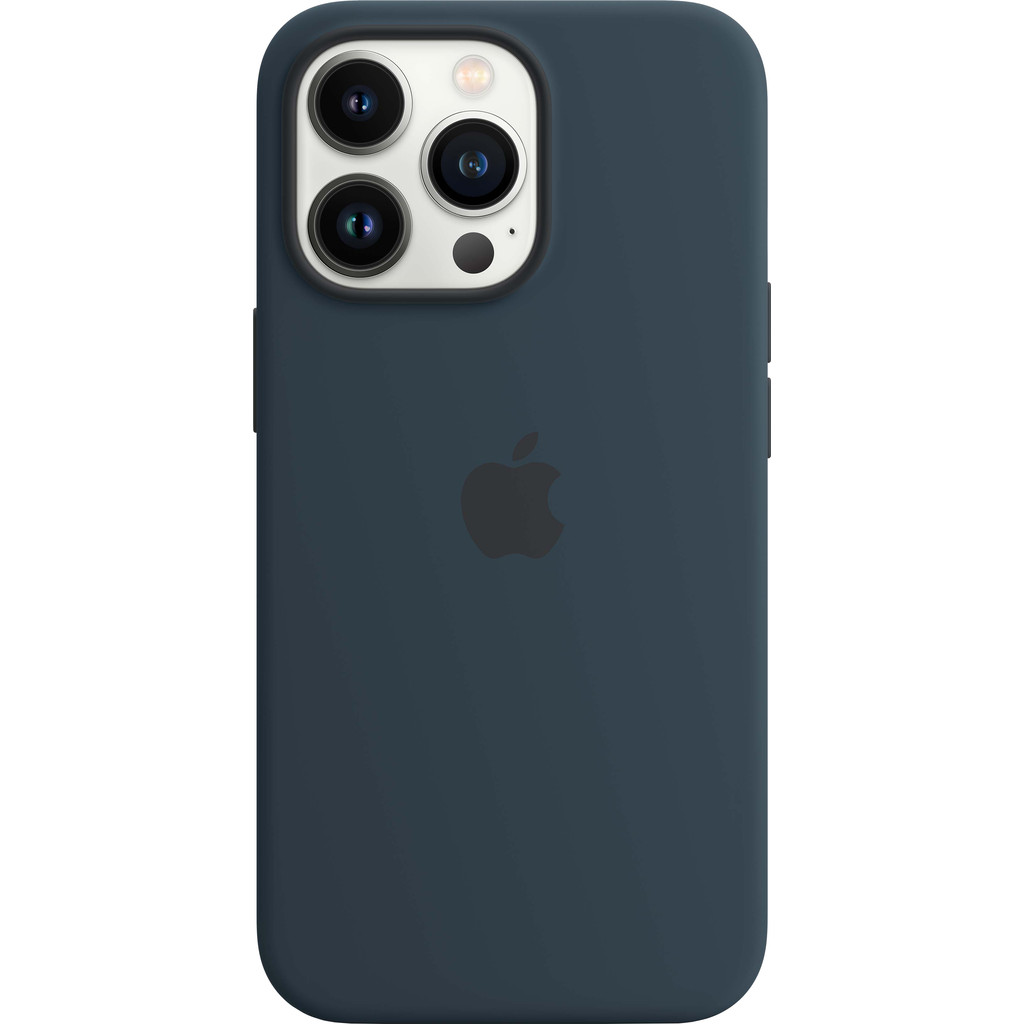 Apple iPhone 13 Pro Back Cover met MagSafe Abyss-blauw