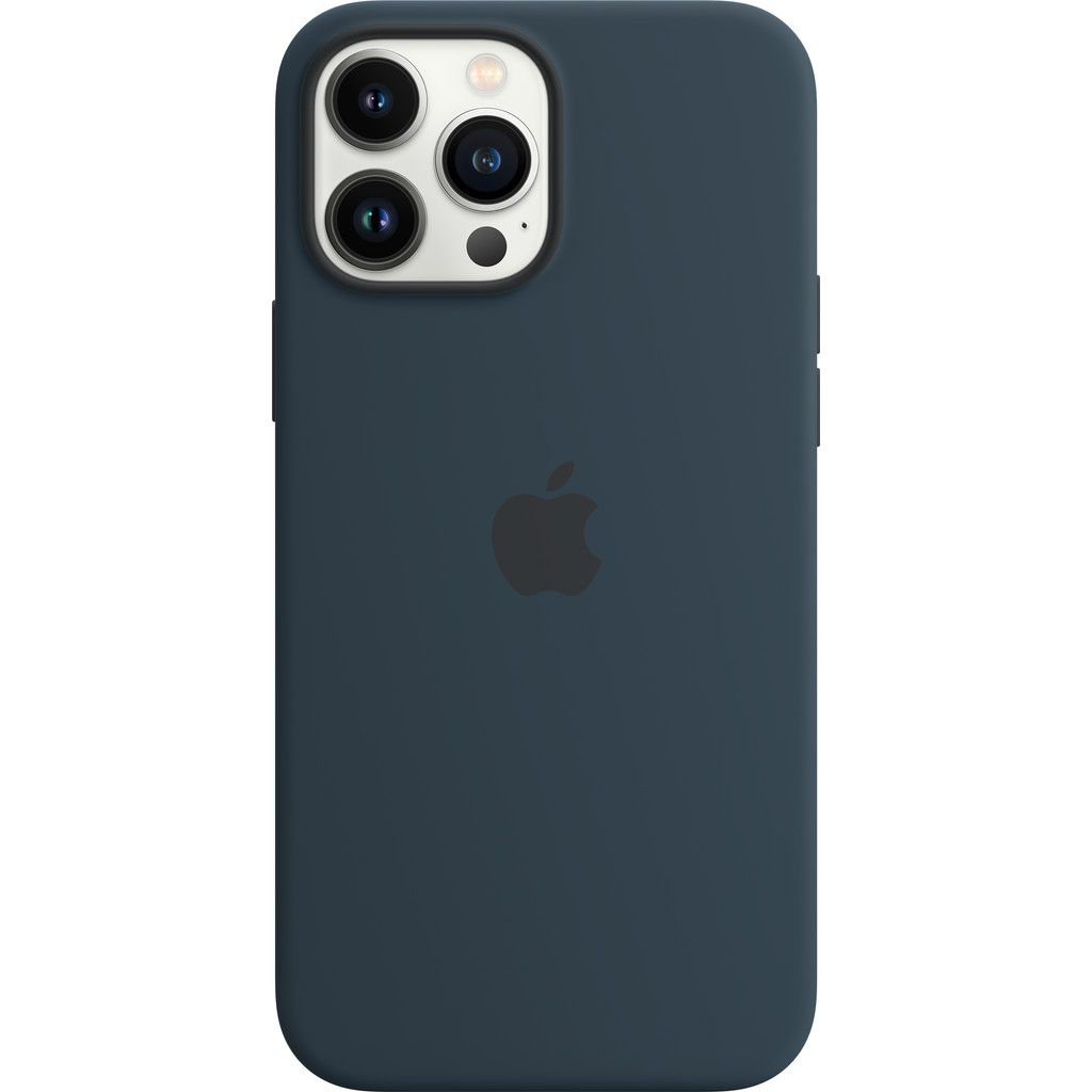 Apple iPhone 13 Pro Max Back Cover met MagSafe Abyss-blauw