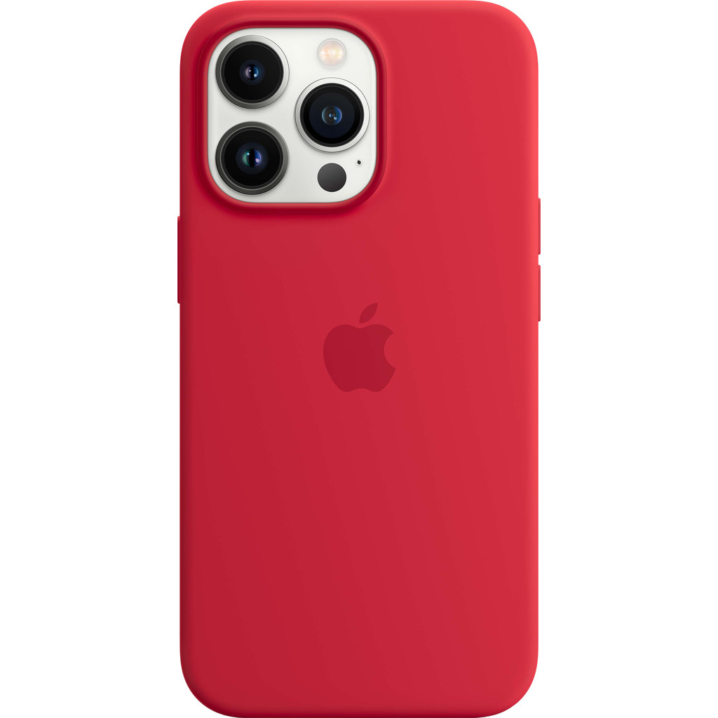 Apple iPhone 13 Pro Back Cover met MagSafe RED