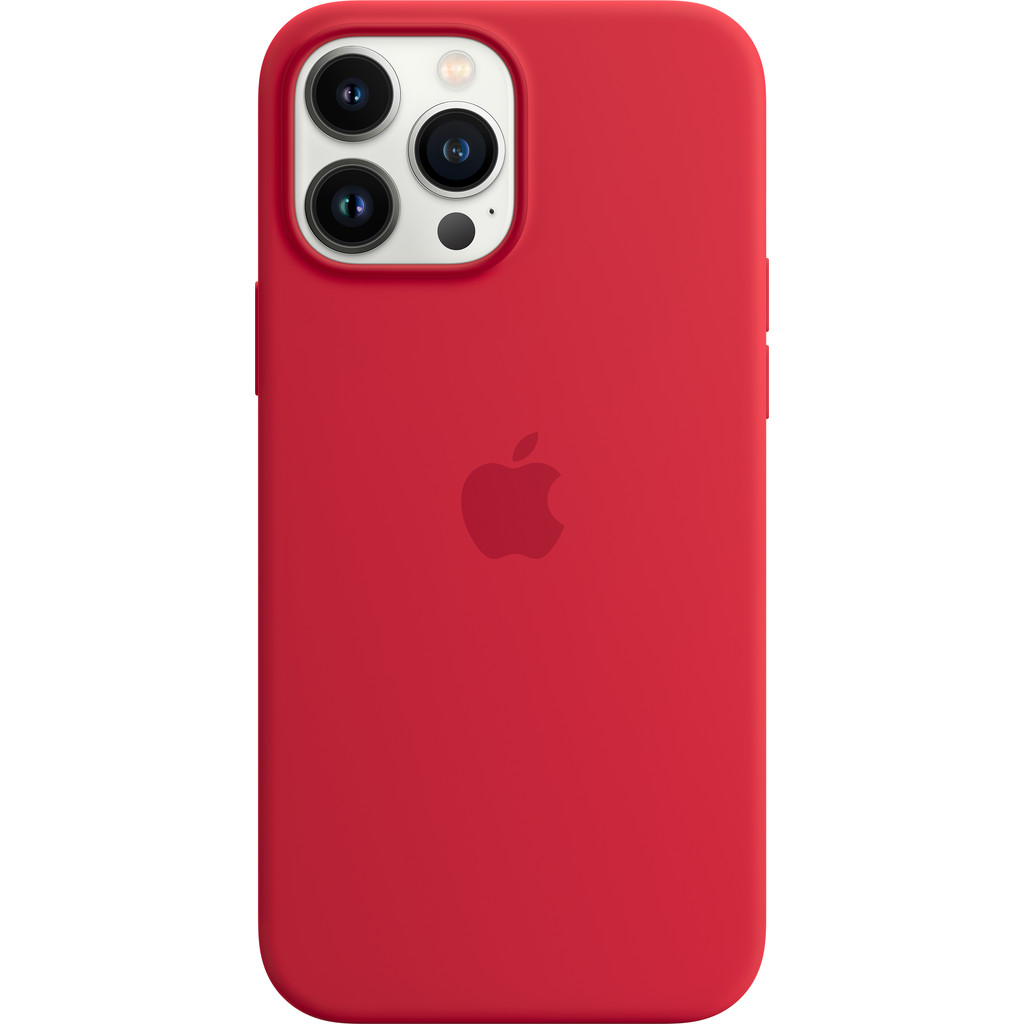 Apple iPhone 13 Pro Max Back Cover met MagSafe RED