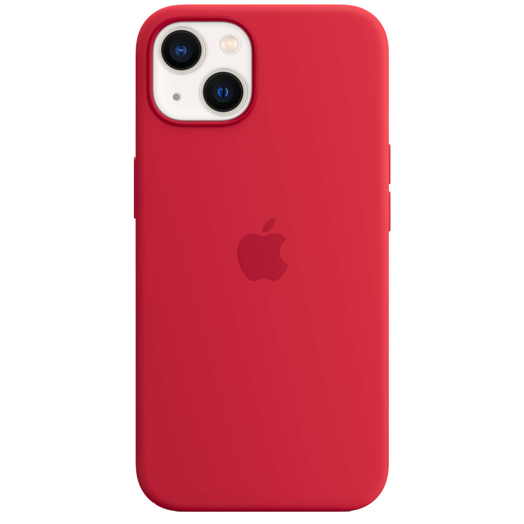 Apple iPhone 13 Back Cover met MagSafe RED
