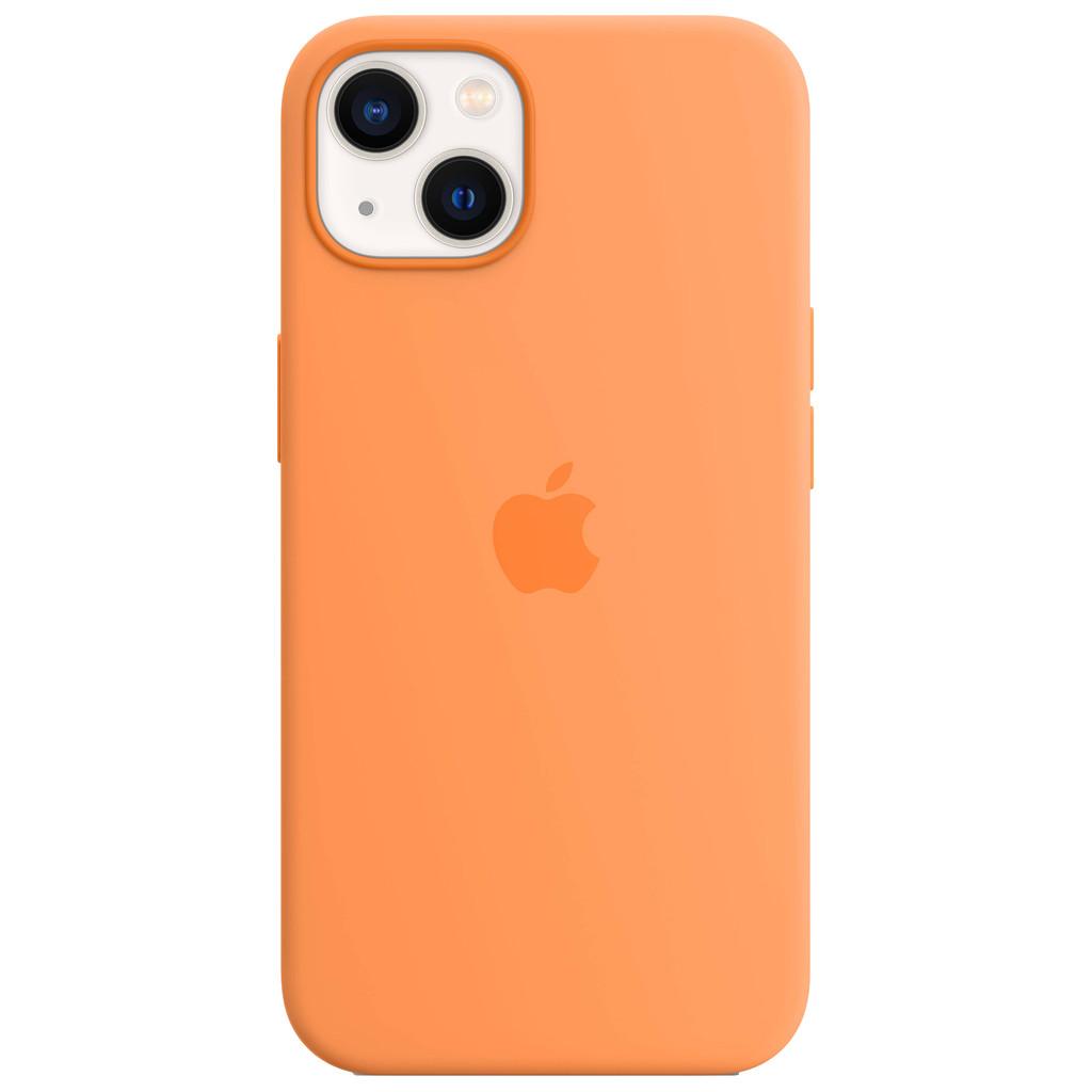 Apple iPhone 13 Back Cover met MagSafe Okergeel