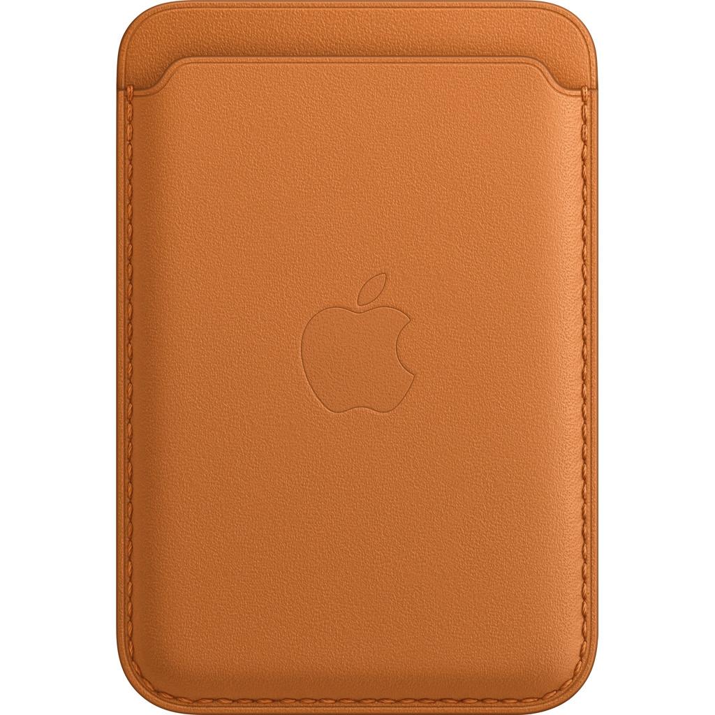 Apple Leren Kaarthouder voor iPhone met MagSafe Goudbruin