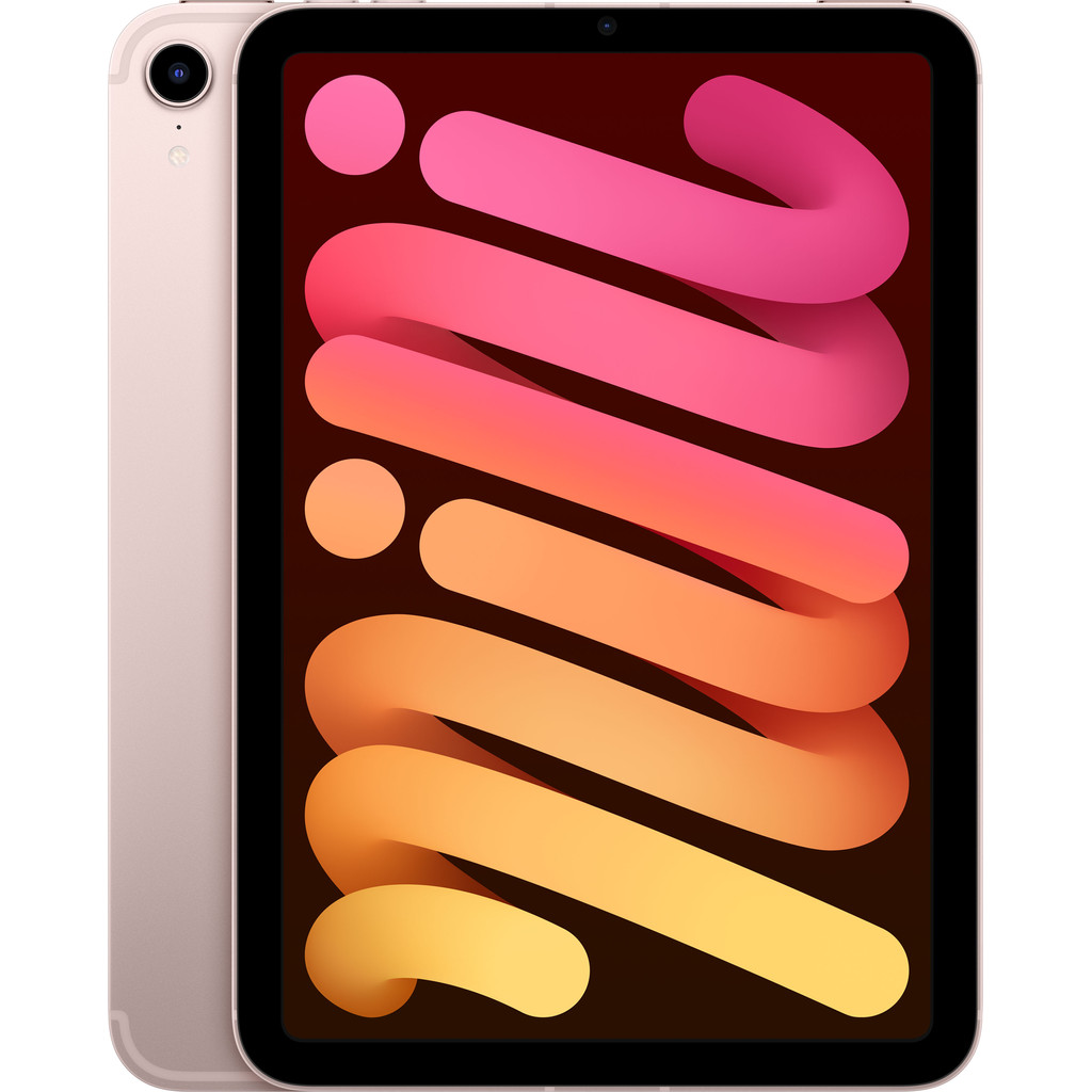 Apple iPad Mini 6 64GB Wifi + 5G Roze