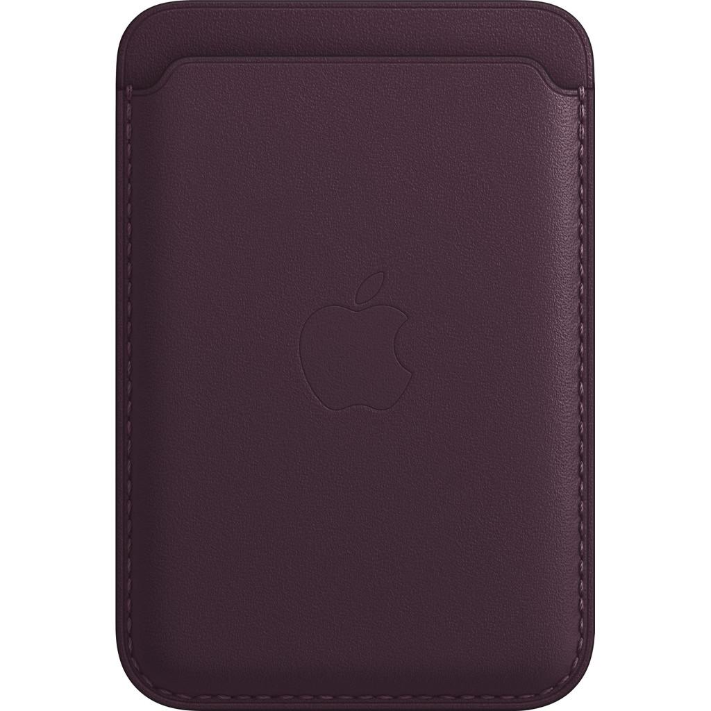 Apple Leren Kaarthouder voor iPhone met MagSafe Donkere kers