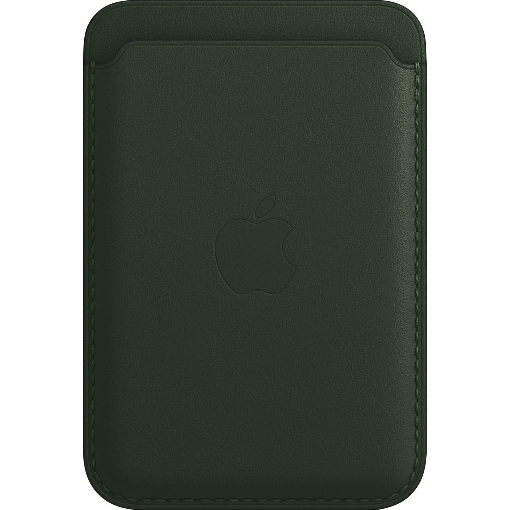 Apple Leren Kaarthouder voor iPhone met MagSafe Sequoia-groen