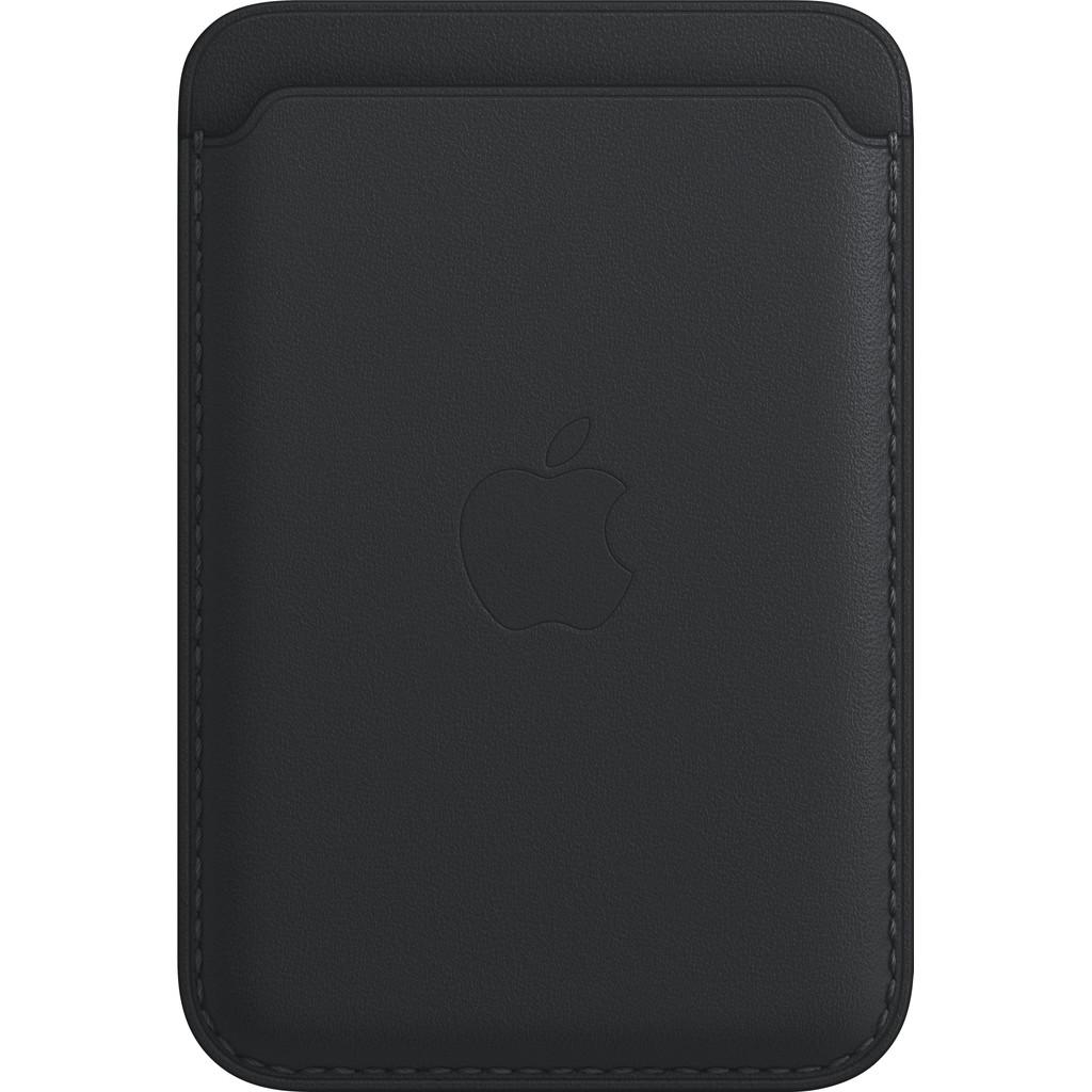 Apple Leren Kaarthouder voor iPhone met MagSafe Middernacht