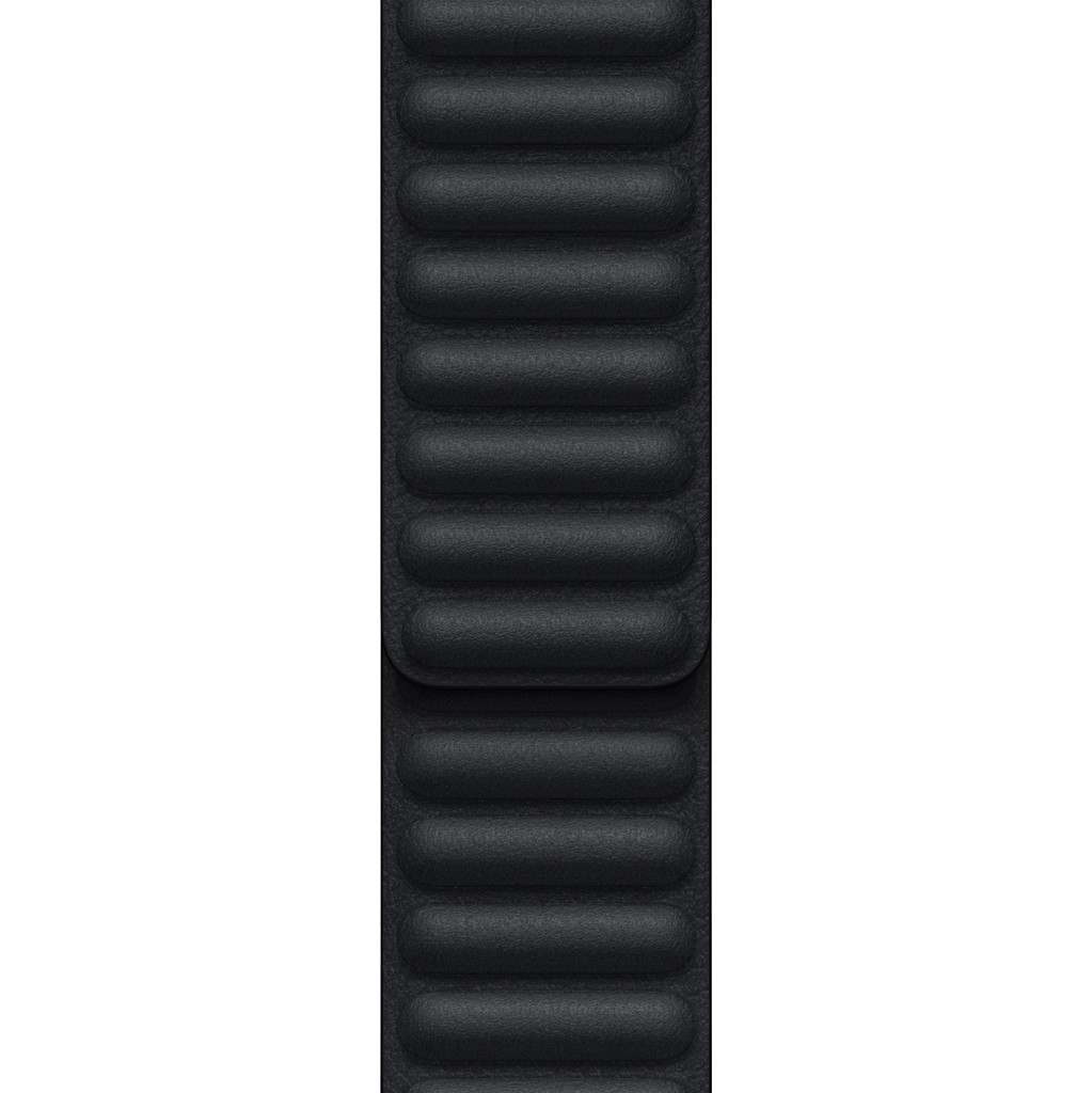 Apple Watch 38/40/41 mm Leather Link Horlogeband Middernacht – Medium/Large