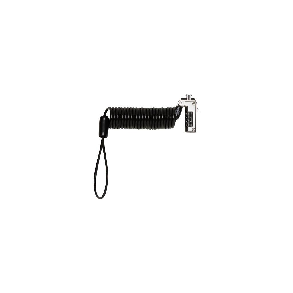 Kensington Slim Portable Combination Laptopslot