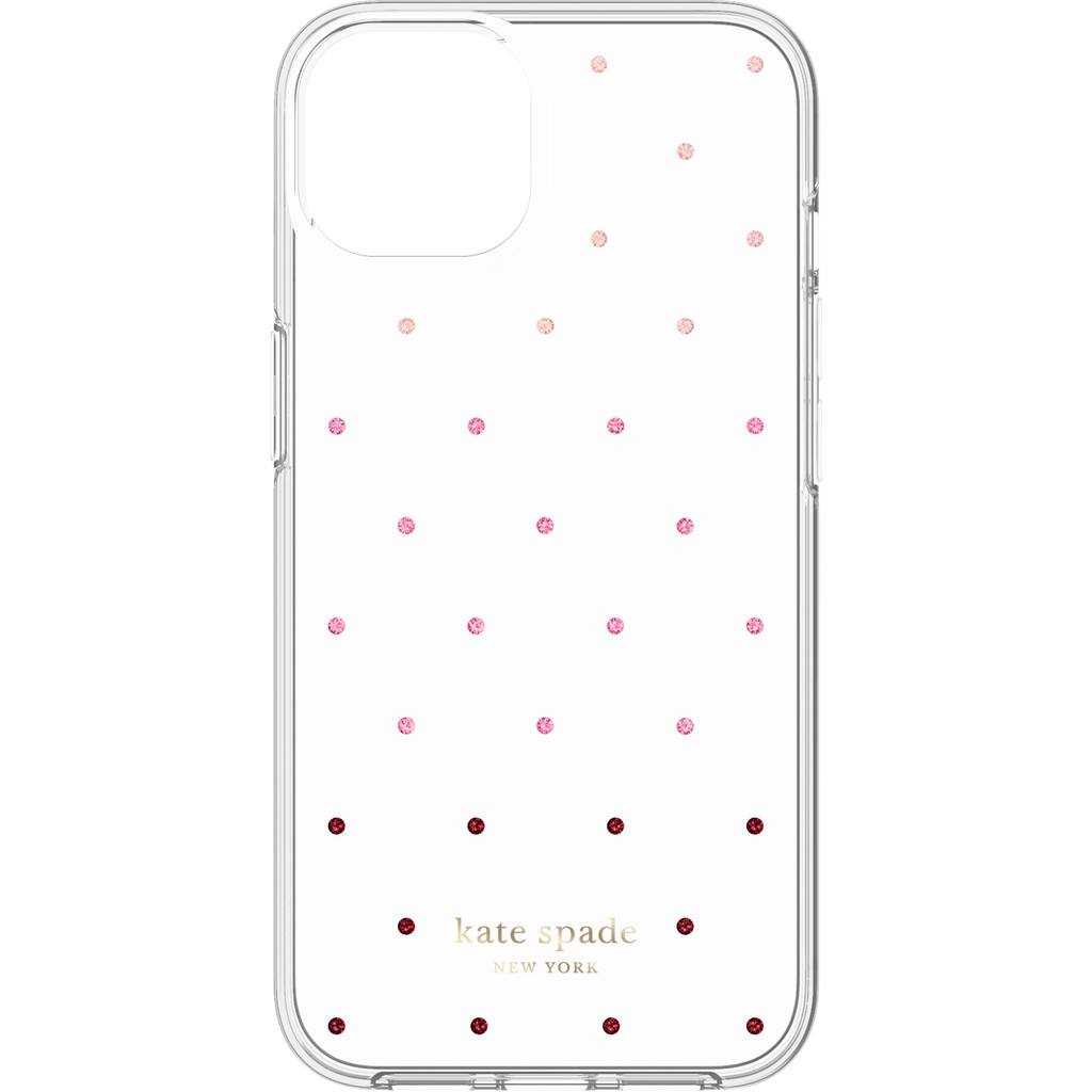 Kate Spade Pin Dot Protective Hardshell iPhone 13 Back Cover