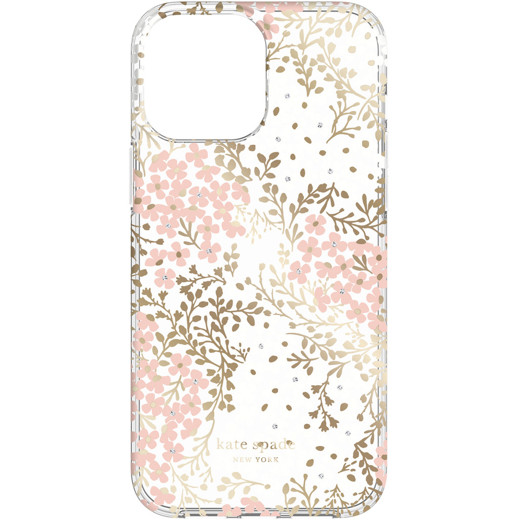 Kate Spade Multi Floral Protective Hardshell iPhone 13 Pro Max Back Cover