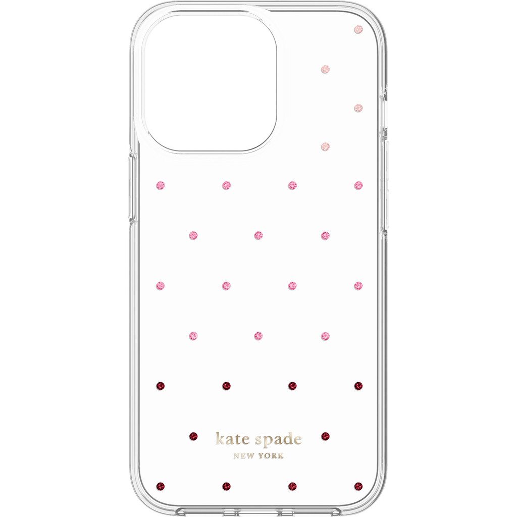 Kate Spade Pin Dot Protective Hardshell iPhone 13 Pro Back Cover