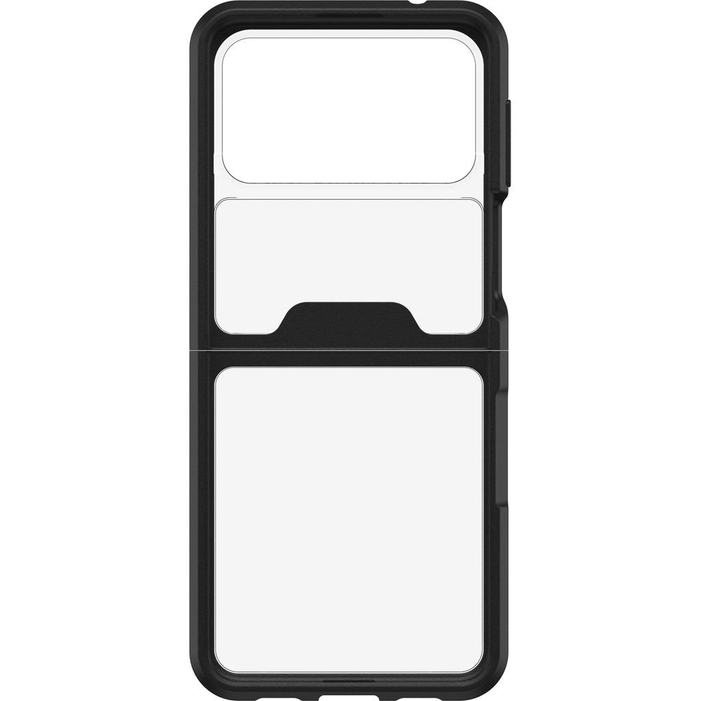 Otterbox Symmetry Flex Samsung Galaxy Z Flip 3 Back Cover Transparant/Zwart