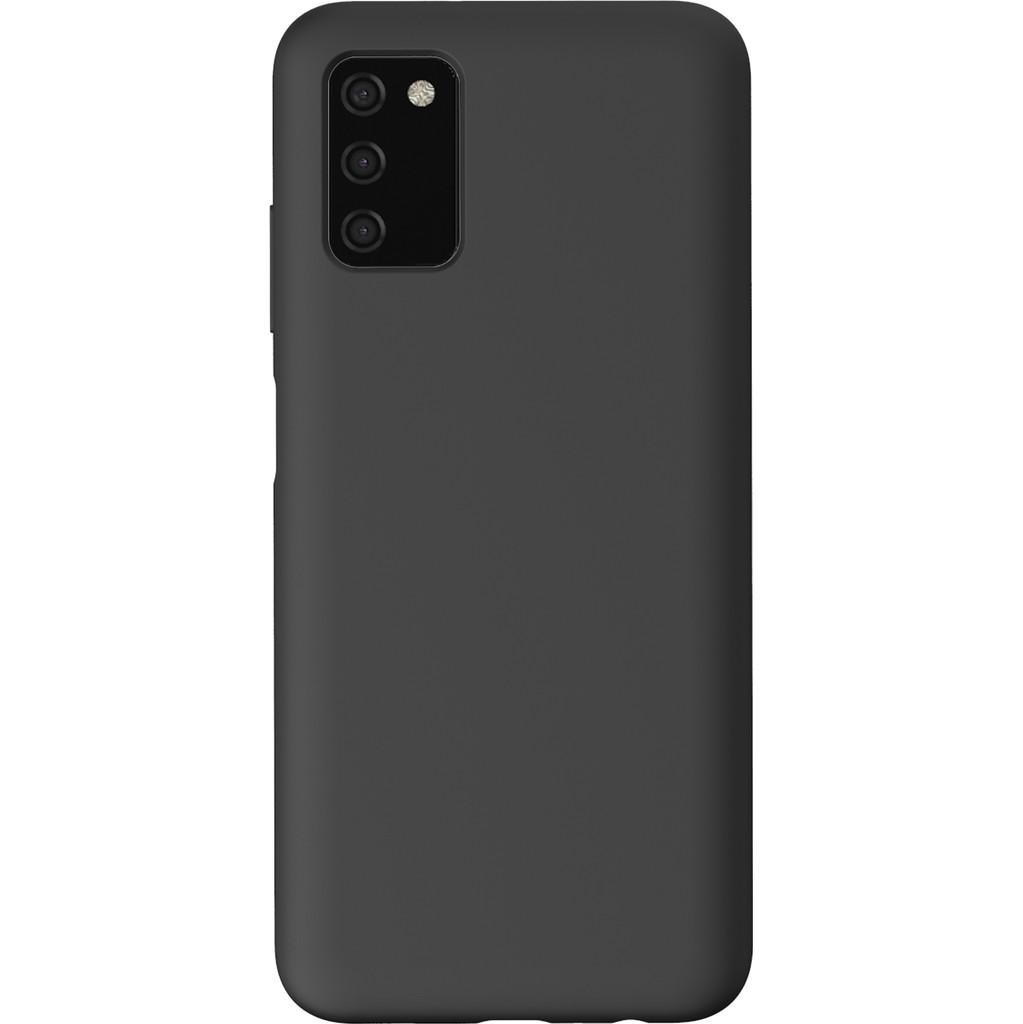 Azuri Samsung Galaxy A03s Back Cover Siliconen Zwart