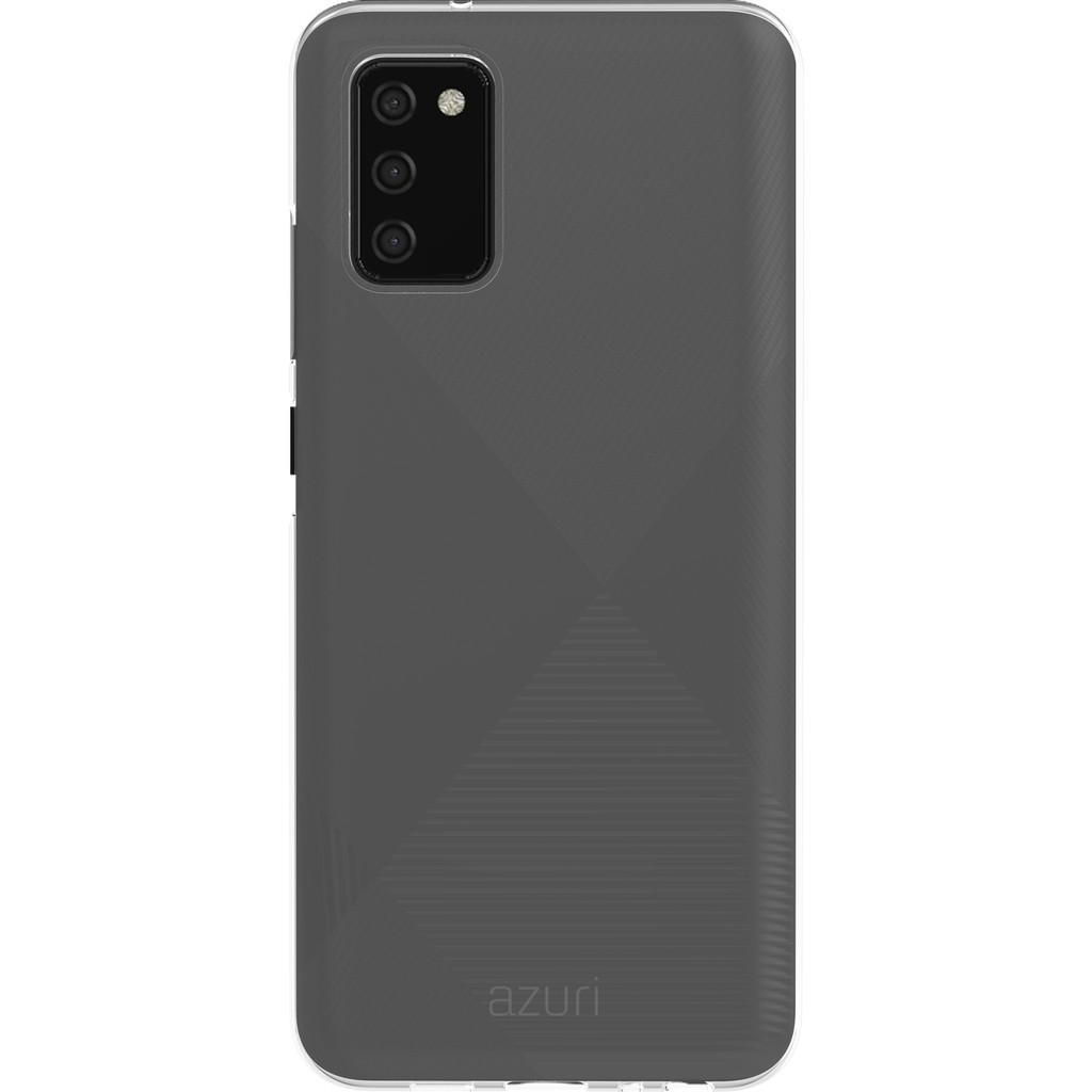 Azuri TPU Samsung Galaxy A03s Back Cover Transparant