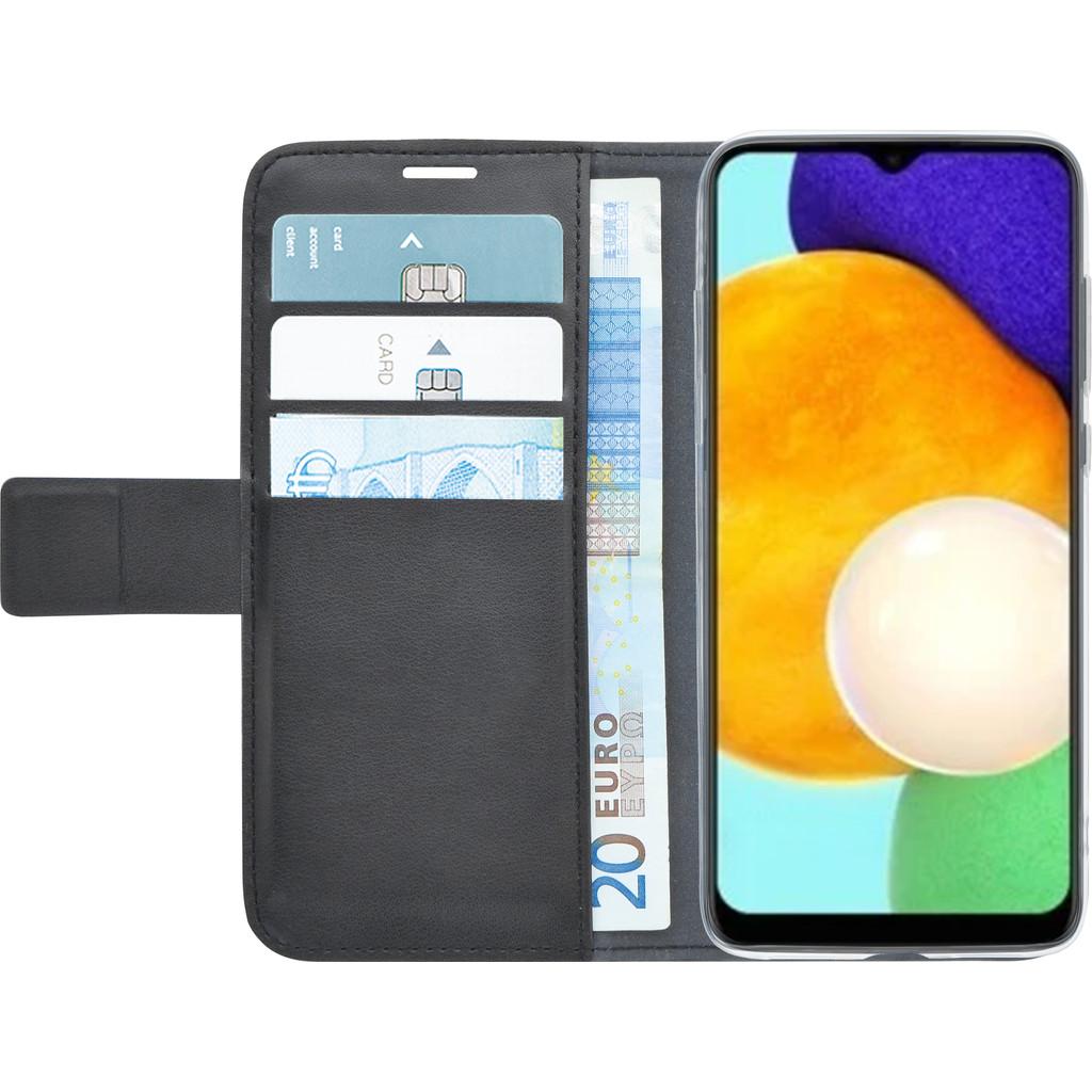 Azuri Wallet Samsung Galaxy A03s Book Case Zwart