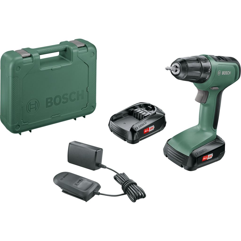 Bosch UniversalDrill 18 2021 (2 accu's + koffer)