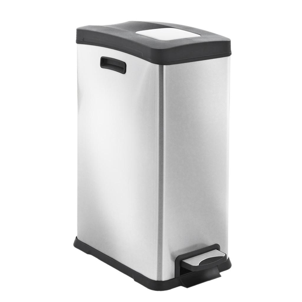 EKO Rejoice Pedaalemmer 30 Liter Mat RVS