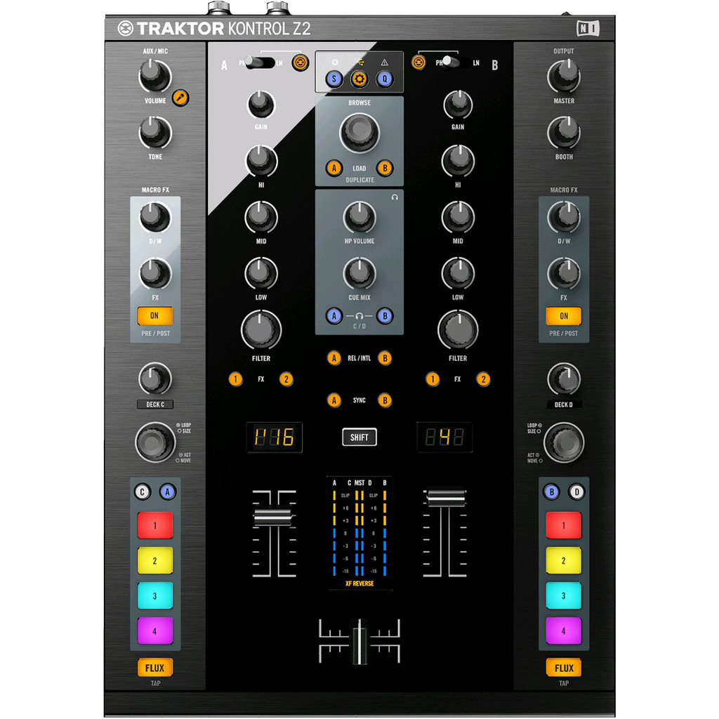 Native Instruments Traktor Kontrol Z2 in Angreau
