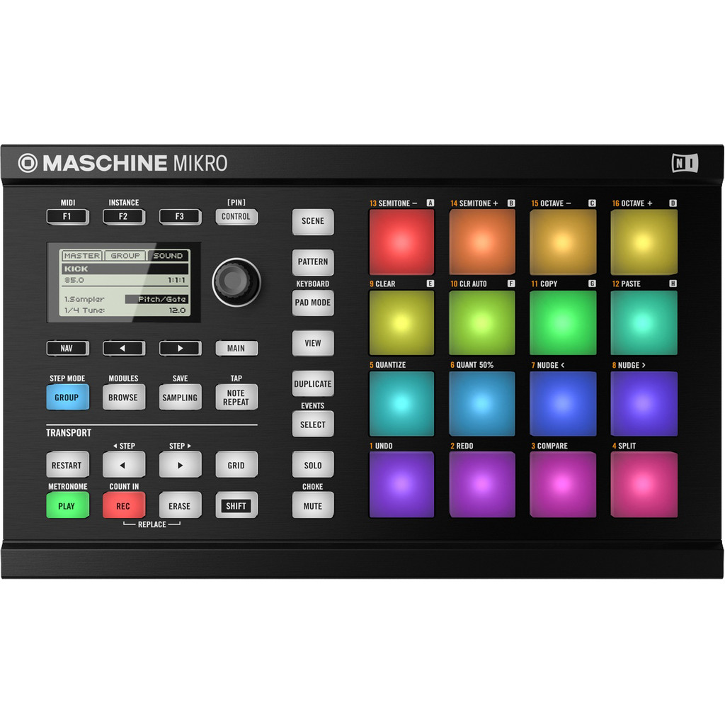 Native Instruments Maschine Mikro MK2 Black in De Marshoek