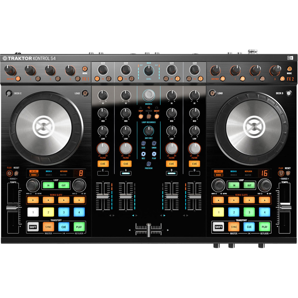 Native Instruments Traktor Kontrol S4 MK2 in Hulshorst