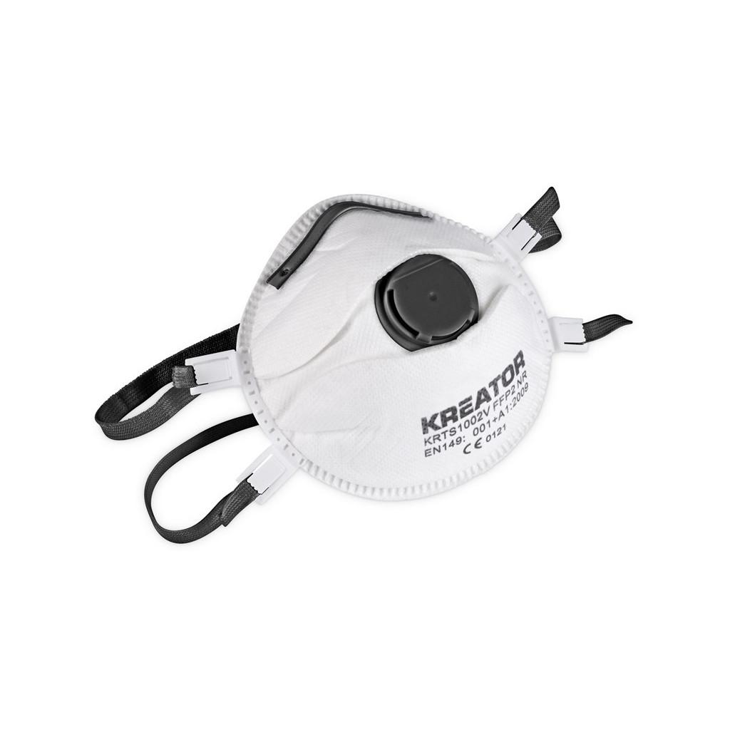 Kreator KRTS1003V Stofmasker FFP3 Valve (2x) kopen
