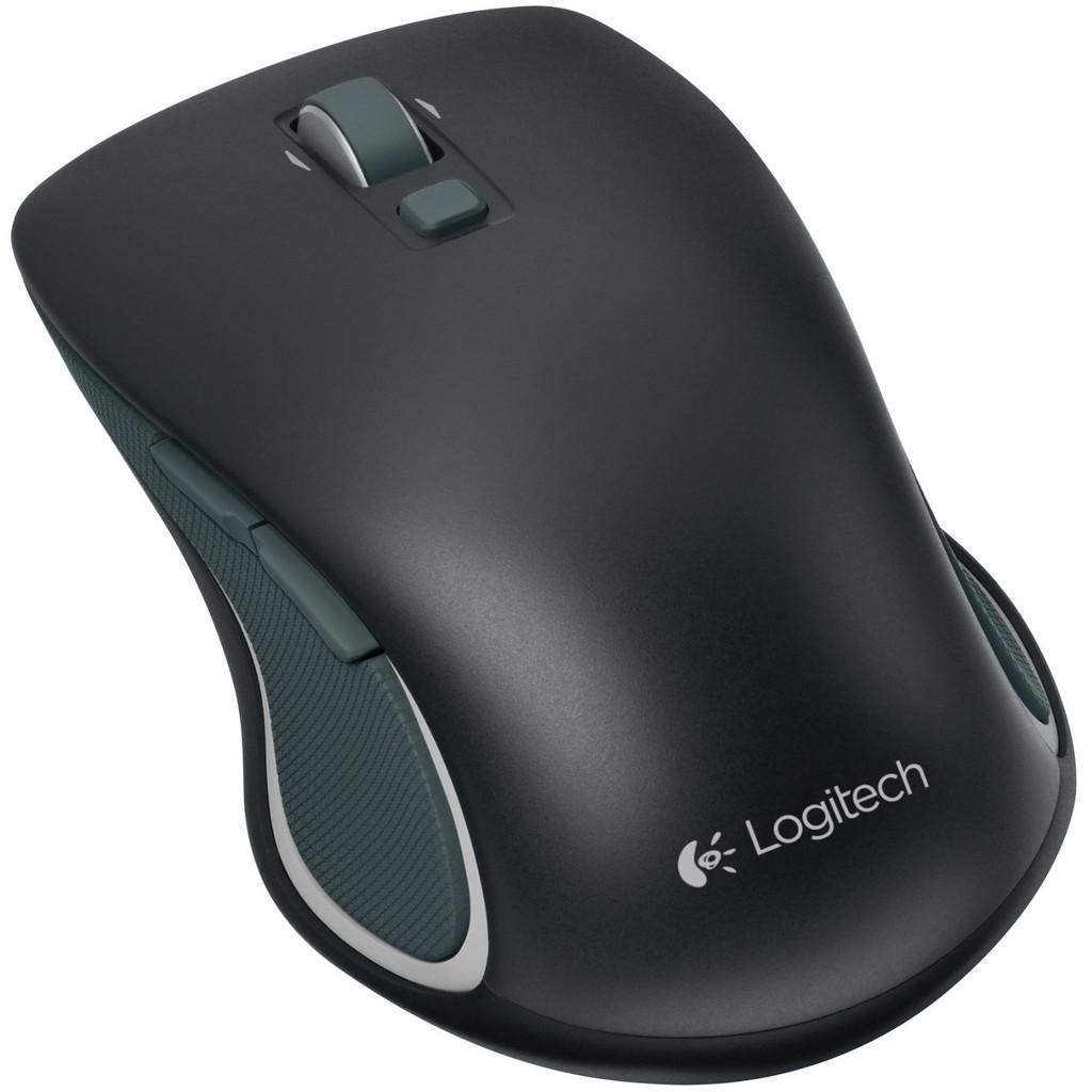 Logitech Wireless Mouse M560 Zwart in Warm