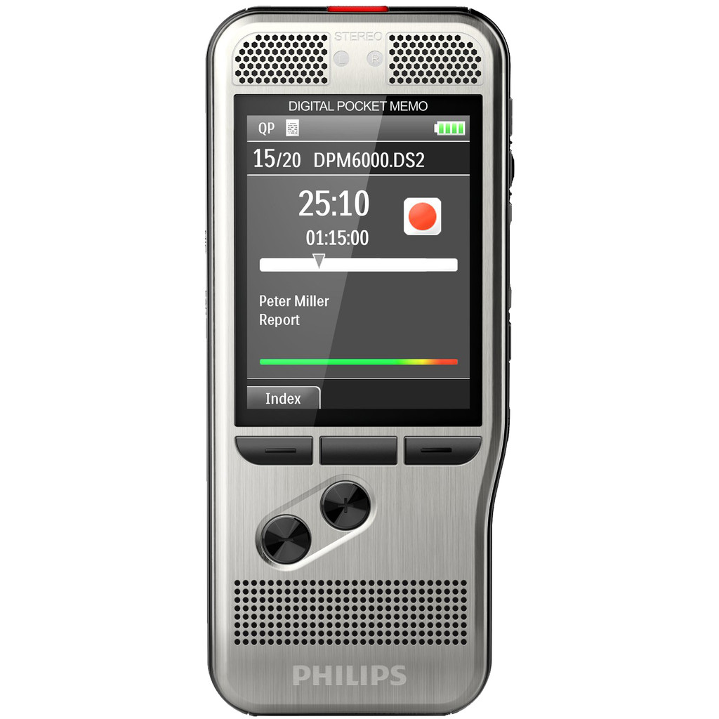 DICTEERAPPARAAT PHILIPS POCKET MEMO DPM6000
