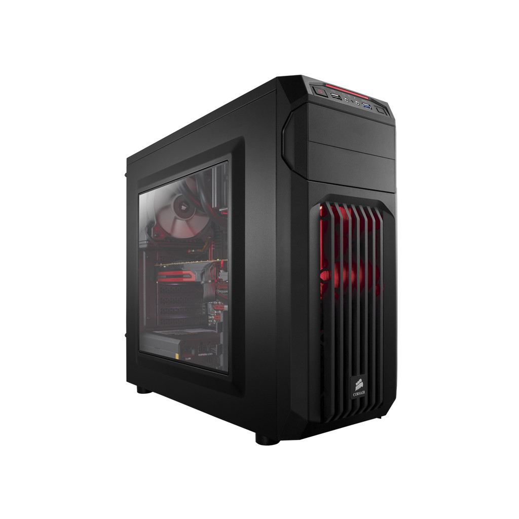 Corsair Carbide SPEC-01 Red LED in Aan de Berg