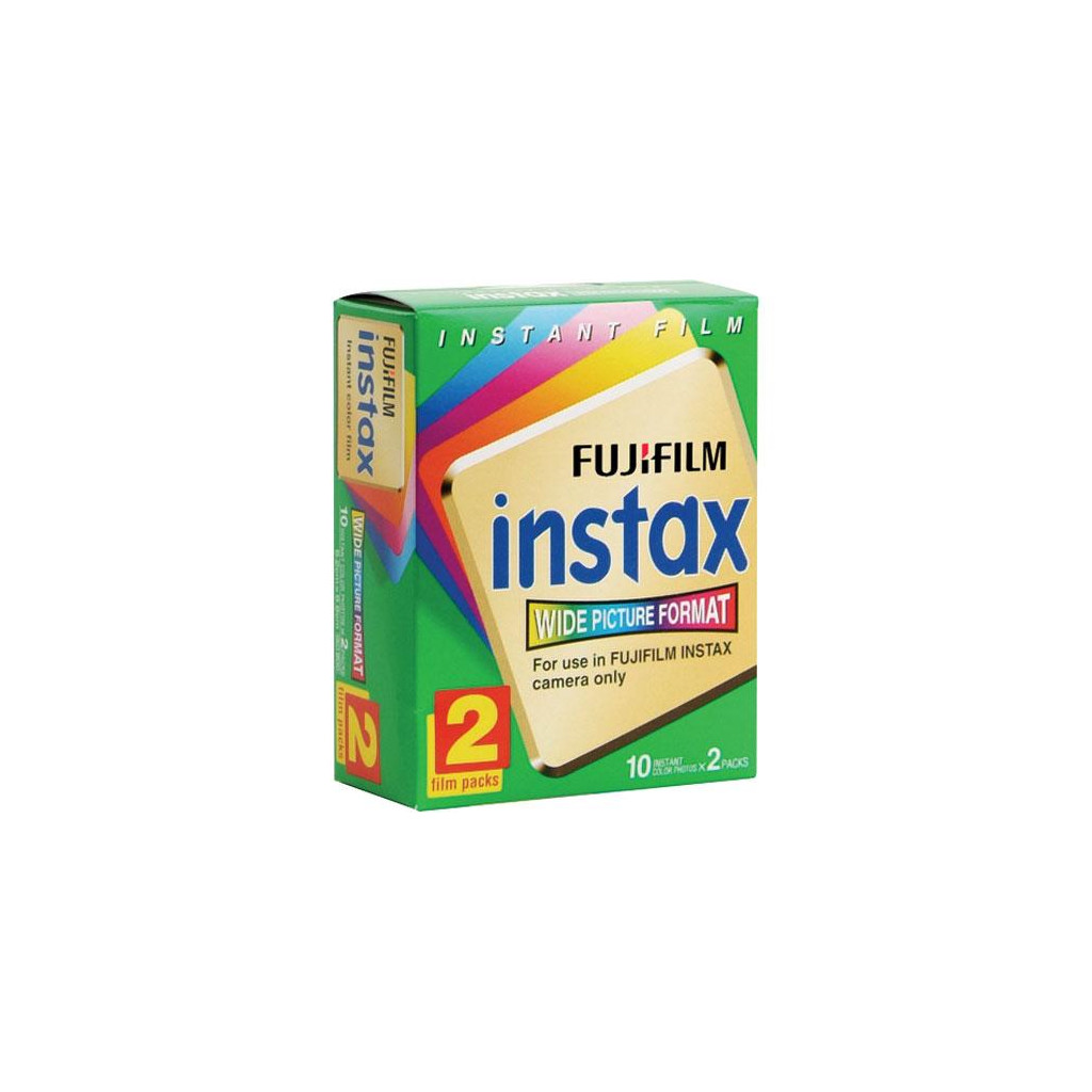 Fuji Instax Colorfilm Glossy 10x2 pak in Fauvillers