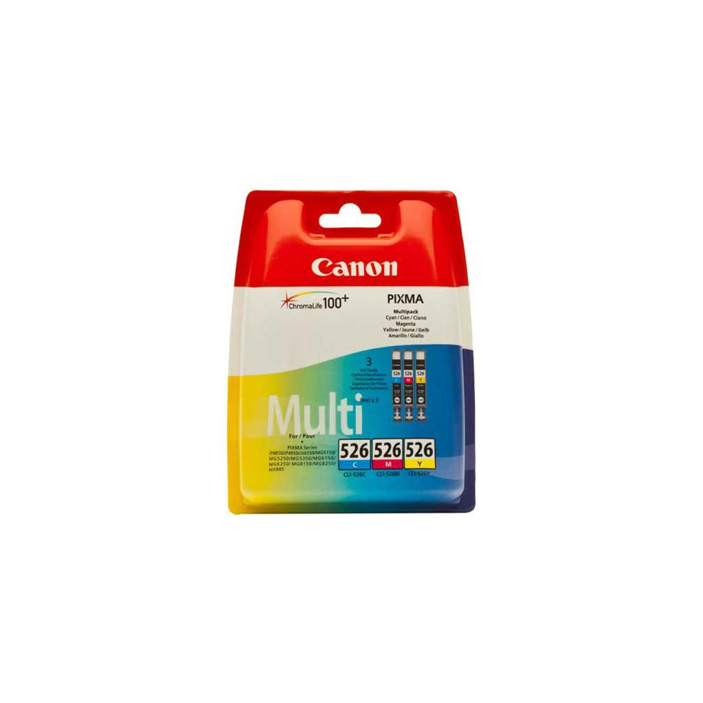 Canon CLI-526 CMY Cartridge 3-Kleuren (4541B009) kopen