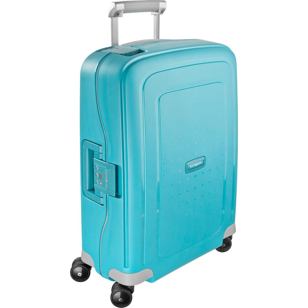 Samsonite S'Cure Spinner 55 cm Aqua Blue kopen