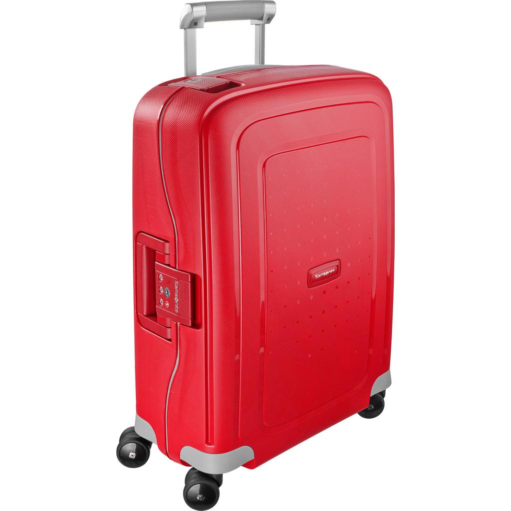 Samsonite S'Cure Spinner 55cm Crimson Red kopen