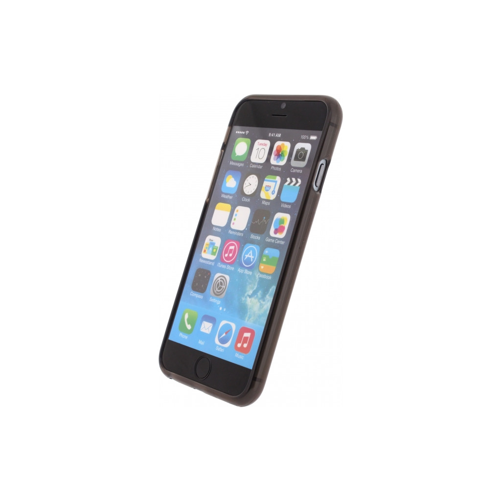 TPU Case Transparant Black Apple iPhone 6