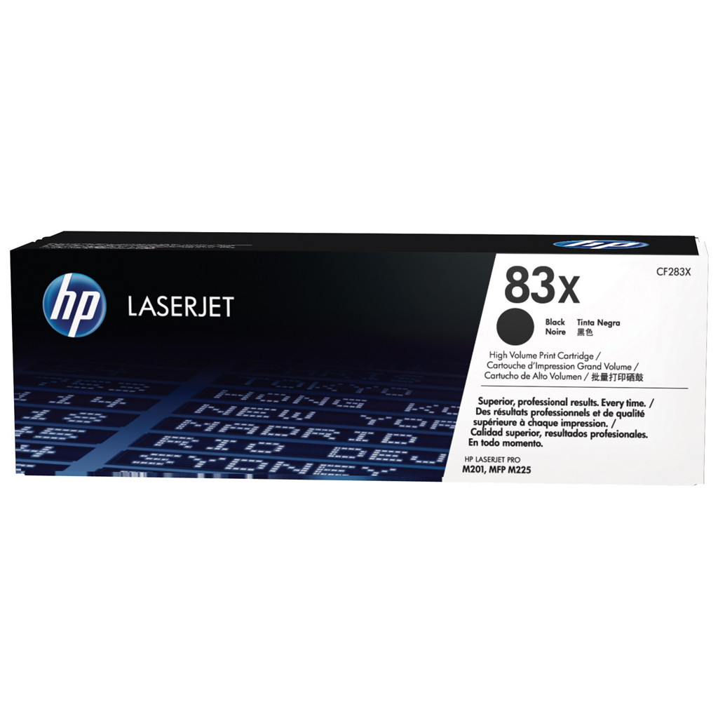HP 83X Toner Zwart XL (CF283X) kopen