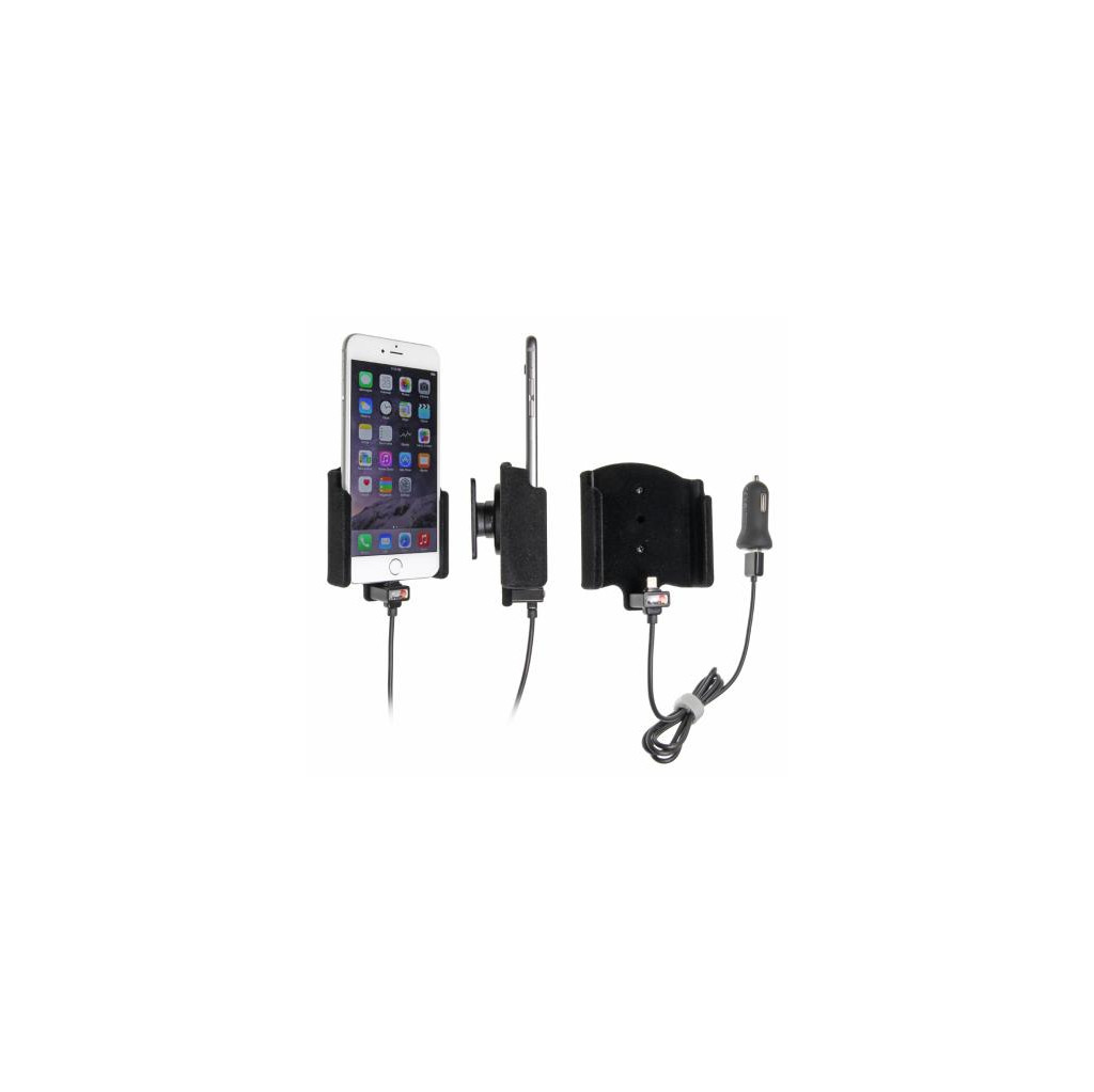 Brodit BRODIT ACTIEVE HOUDER SIG-PLUG ROTEREND VOOR APPLE IPHONE 6 PLUS (521661)