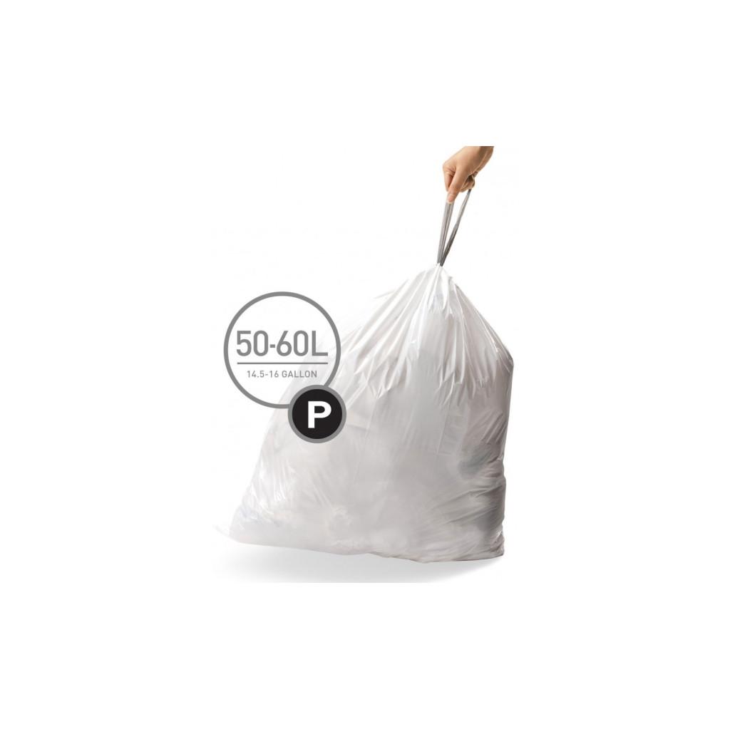 Afvalzakken 50-60 liter (P), Simplehuman