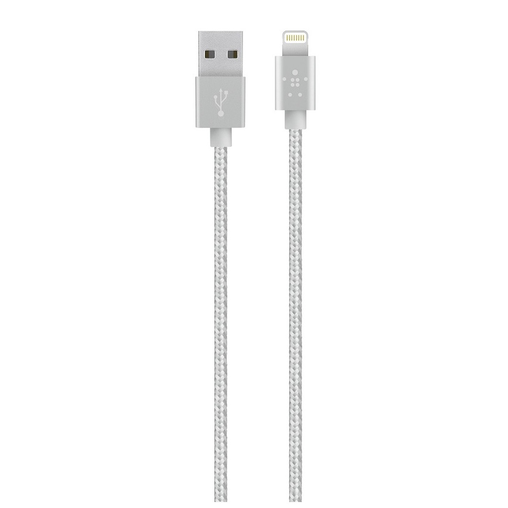 USB lightning Metallic Silver 120M