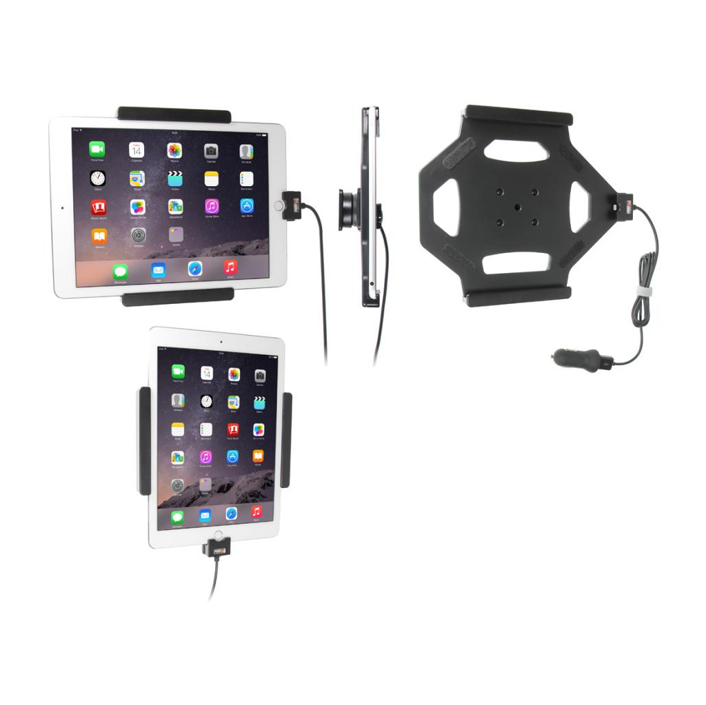 Brodit Houder Apple iPad Air 2/Pro 9.7 met Oplader in Korhorn