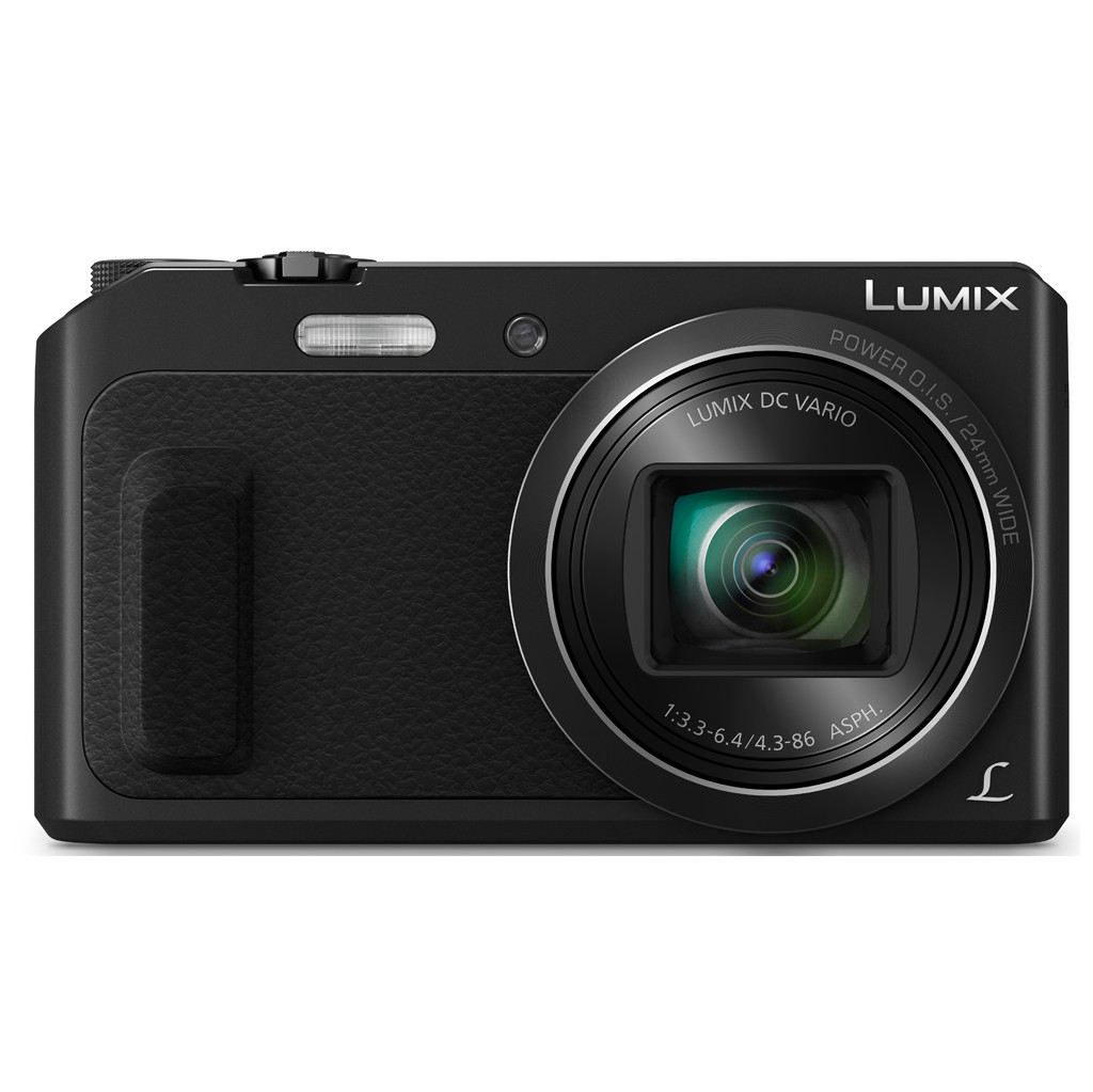 Panasonic Lumix DMC-TZ57 zwart in Rouvreux