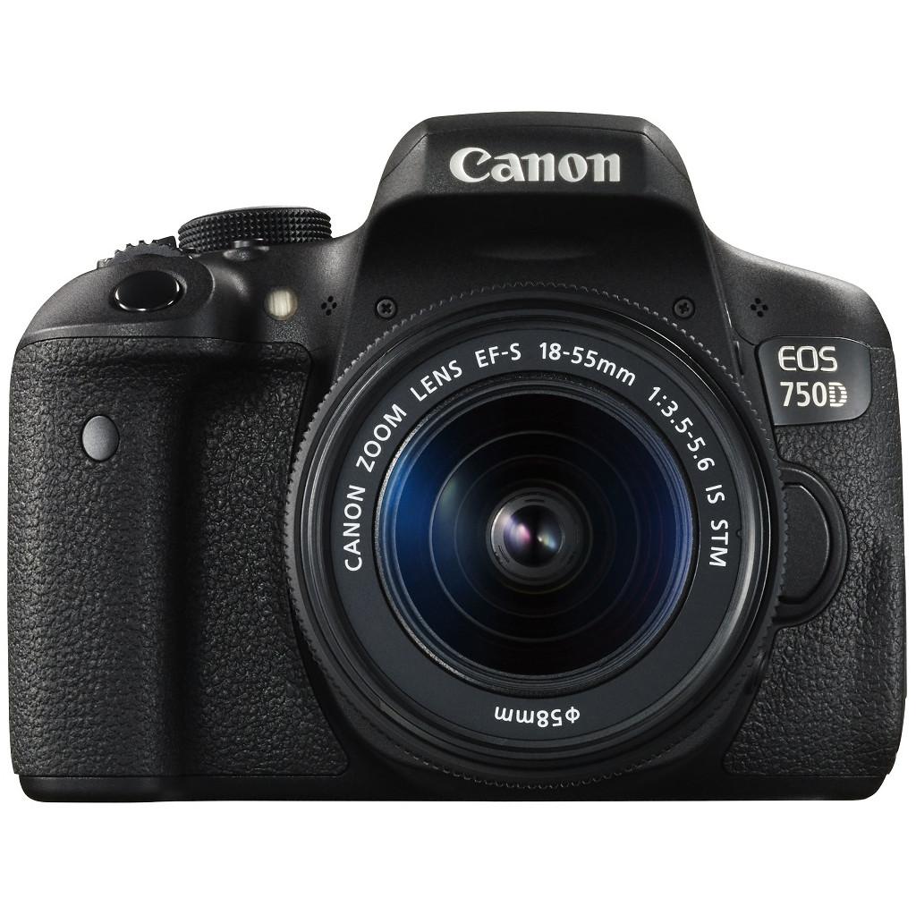 Canon EOS 750D + 18-55mm f/3.5-5.6 IS STM kopen