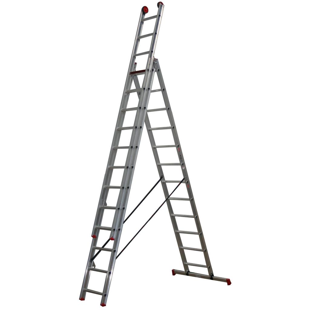 Afbeelding van Altrex All Round 3 delige reformladder AR 3080 x 12 ladder