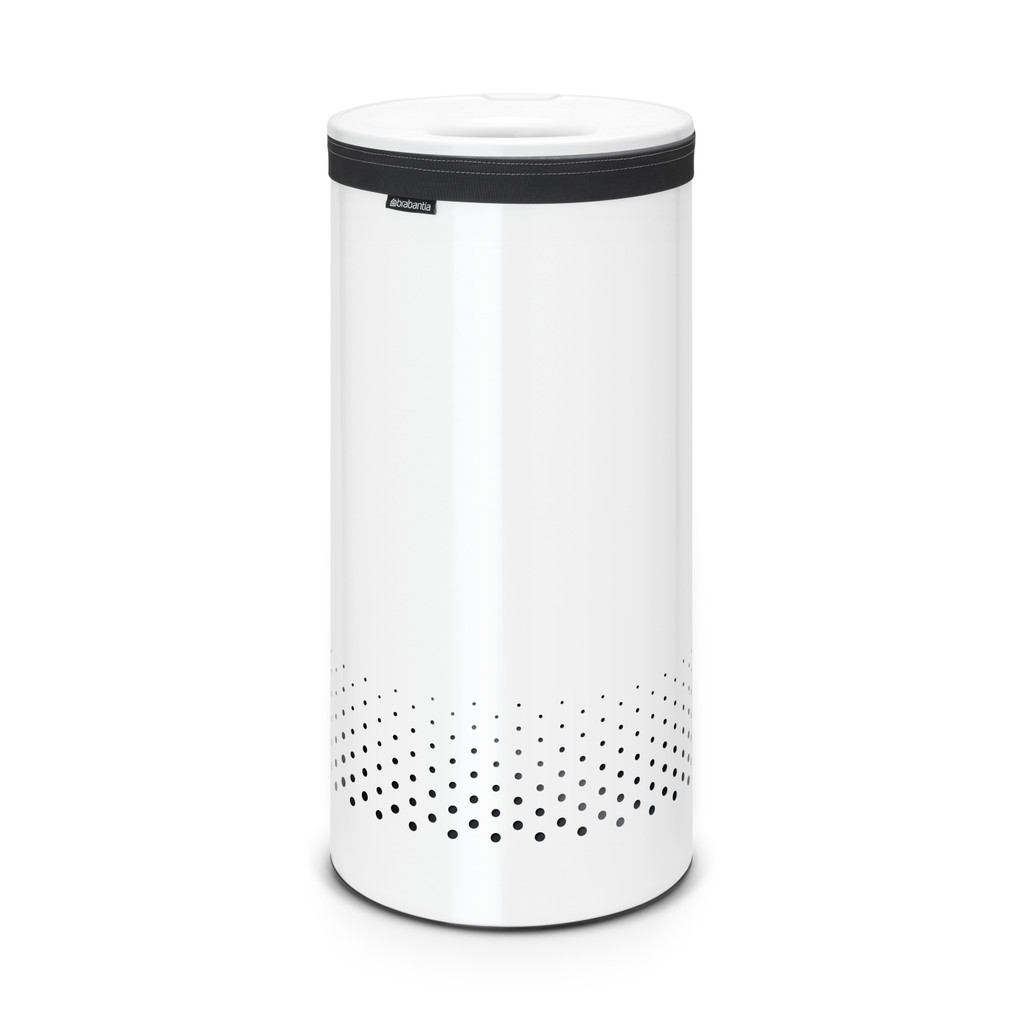 Brabantia Wasbox 35 liter wit kunstof deksel in Skrok