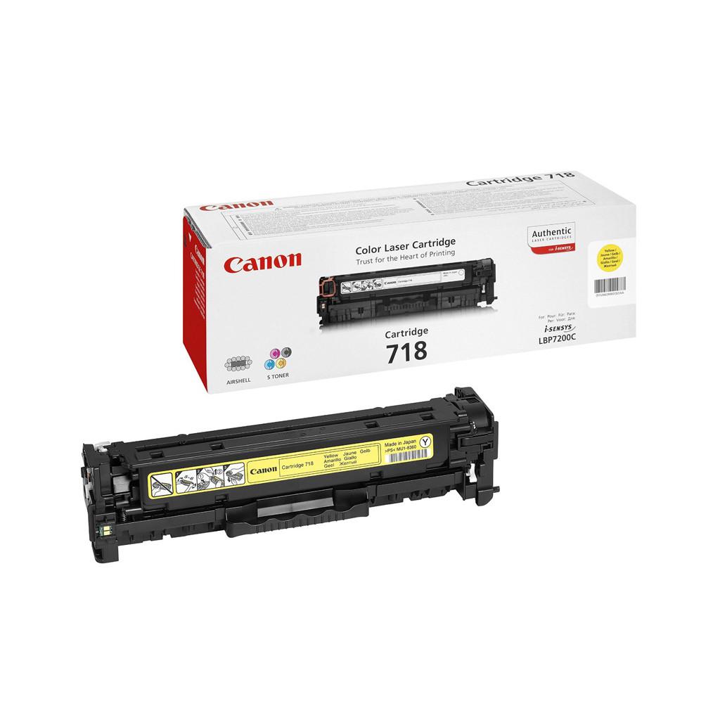 Canon CRG-718 Toner Geel (2659B002) kopen