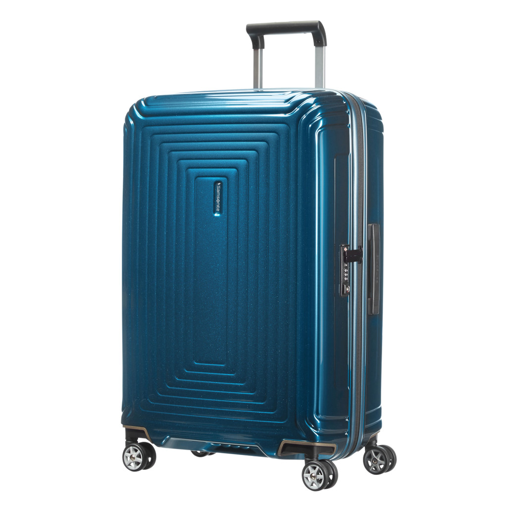 Samsonite Neopulse Spinner 69cm Metallic Blue kopen