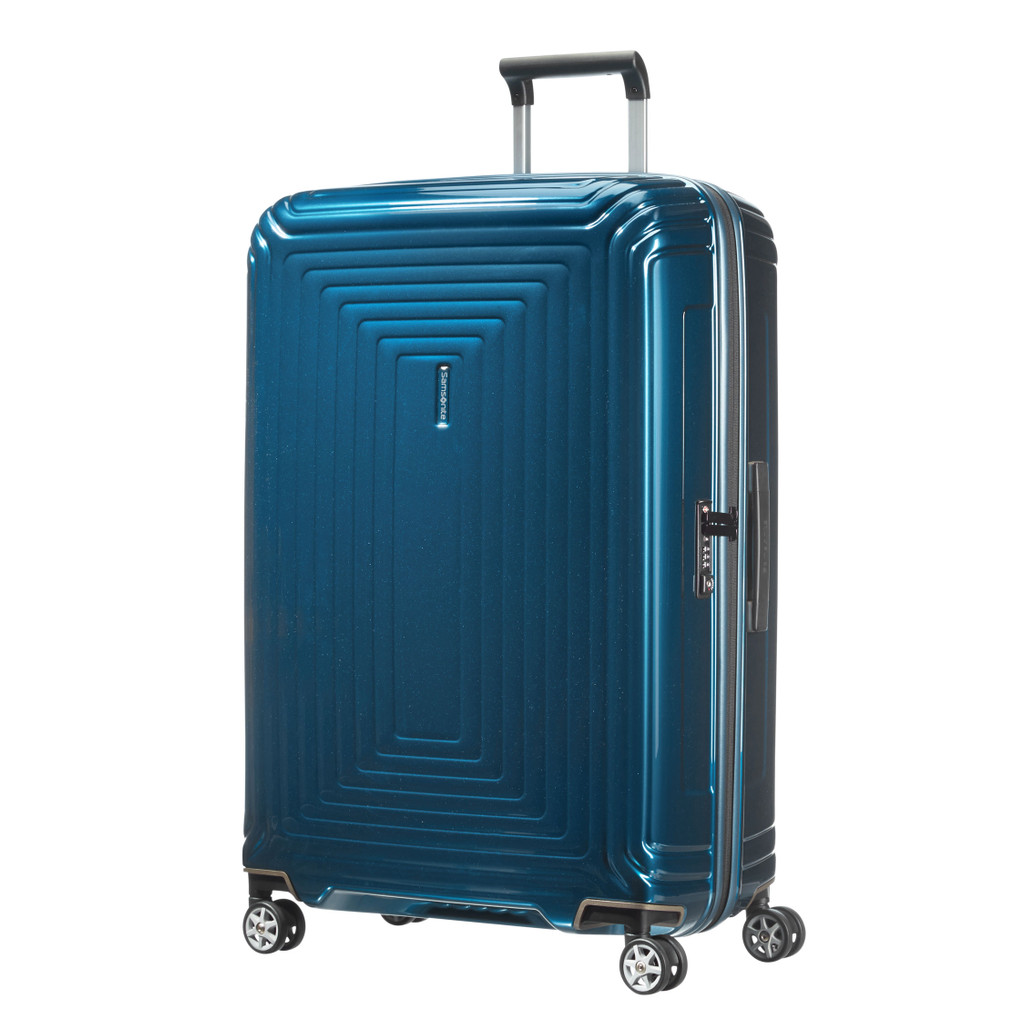 Samsonite Neopulse Spinner 75cm Metallic Blue kopen
